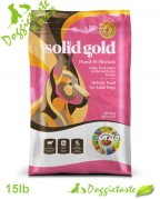 Solid Gold Hund-n-Flocken 成犬狗糧 15LB